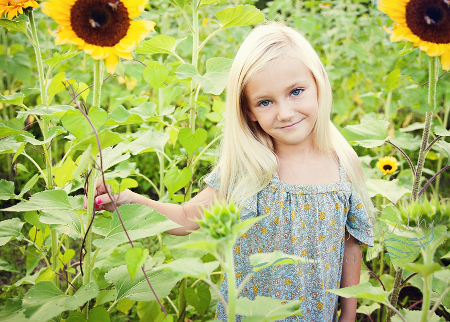 Advice from a Sunflower~ Winchester, VA Family Photographer